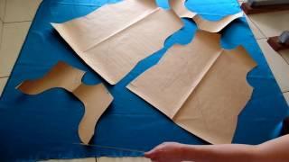 como encaixar molde no tecido
