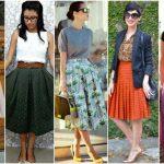 Qual o comprimento de uma saia longa?